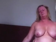 Fat Wife Sits On It