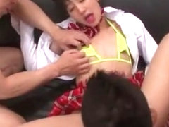 Amazing Japanese girl Anna Kiuchi in Best Handjob, Toys JAV video
