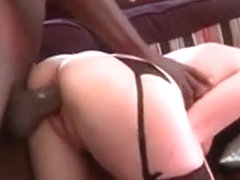 Redhead Mom Humping Huge Black Pecker