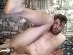 Young Boy Strips and Inserts Glass Bottle -MattThom98