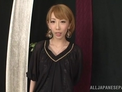 Beautiful Aya Kisaki Asian babe in hot lingerie for sex