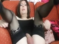 Flashing tits to truckers abuse