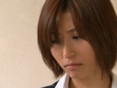 Akari Asahina Hot Japanese teacher hunts for hot young guys