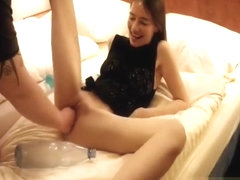 Double Fisting And Dildo Fucking Her Loose Pussy