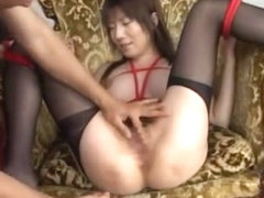 Hottest Japanese whore Aki Yatou in Exotic Cunnilingus, Stockings JAV video