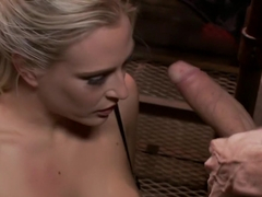 Exotic fetish, milf xxx clip with fabulous pornstars Owen Gray, Angel Allwood and Christian Wilde from Dungeonsex