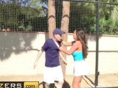 Brazzers - Big TITS in Sports - Diamond Jackson Nikki Benz Jordi El Nino Polla - Game Set Match Pu.