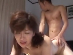 Incredible Japanese girl Risa Sakamoto, Misuzu Shiratori, Chisato Shouda in Exotic Blowjob, Amateu.