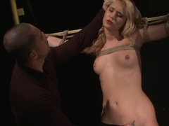 Tiedup Submissive Jizzed On Ass By Maledom