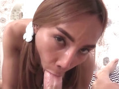Narrow Ass Ladyboy Anal Barebacking