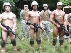 Military penis gay movieture first time Jungle smash fest