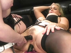 Cherry Torn,Julia Ann,Angel Allwood in HUSH Ep8: Angel Allwood Gets DP'd By Cherry Torn and Julia .