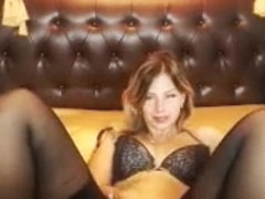 Blonde Charlyse B Models Stockings And Lingerie Part 02