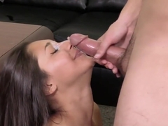 Indian Desi Teen Masturbates gives Blowjob and gets Facial during Casting