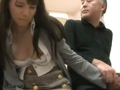Horny Japanese slut Rui Saotome in Best Facial, Cumshots JAV video