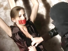 Gagged Eufrat Get To Know Foot Tickling