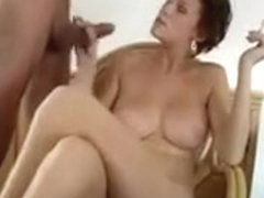 Slut Stroking Cock And Smoking A Cigarette