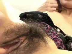 sexy asian has hairy pussy and get fucked
