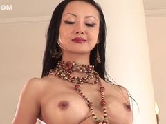 Exotic pornstars Ange Venus, Jandi Lin and Lana Croft in hottest asian, group sex porn video