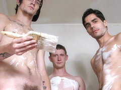 The Horny Decorators Are In - Ivan Paynter, Devin Reynolds And Lex Lane - StraightNakedThugs