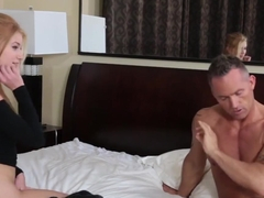 Little Tits Arya Fae Sucks Cock And Fucking