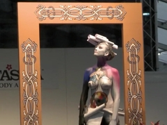 Bodypaint Fashionshow Nude Show Prague