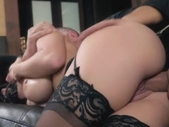 Latin pornstar sex and facial