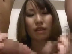 Incredible Japanese slut Ai Miyazaki in Fabulous Threesomes, Big Tits JAV clip