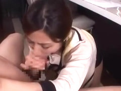 Best Japanese girl Akari Asahina in Crazy Couple, Blowjob JAV scene