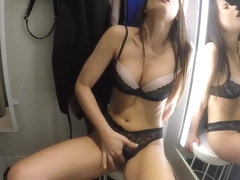Public Sex in Shopping Mall - Little Caprice