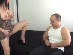 Goes! euro amateur bangs big dick outdoor look for