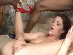 Cici Rhodes All Her Fuckholes Screwed By Big Black Cocks