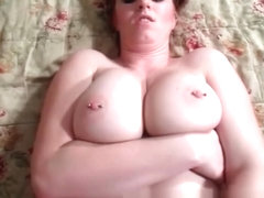 Busty redhead loves to suck cock part5