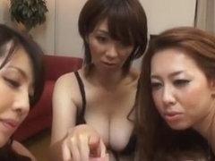 Japanische Gruppe Blowjob