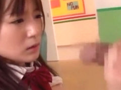 Best Japanese girl Akie Harada in Amazing Sports, Fingering JAV clip