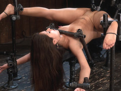 Jynx Maze in So Spread, So Fucked, So Helpless - DeviceBondage