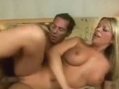 Big Tit Blonde Gets Fucked By A Big Cock