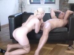 Azjatycki seks dupek