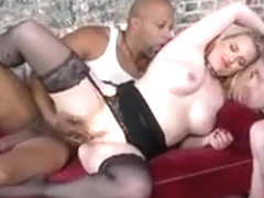 Wife Rides Black Dick