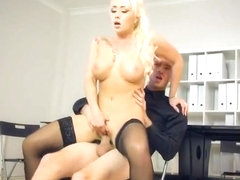 Foxy Boss Christina Shine Gets Her Pussy Stretched
