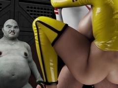 3D cartoon porno clip caldo ebano ragazza sesso