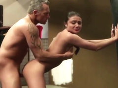 Severe trainer fucks his young student Adria Rae in the gym - sweet sinner