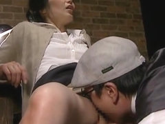 Tongue Kissing Interrogation Threesome