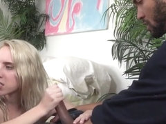 Cadence Lux Makes Pussy Husband Eats Studs Cum