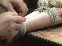 Hot Blond's First Time Being Made To Squirt Totally Helpless, Bound,  Cumming So Much It Hurts - H.