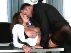 Sensual Jane Business Woman With Hanging Tits