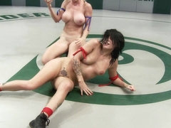 Big Titted Blond With Killer Jiu Jitsu Skills Destroys Porn Star Tori Luxe On The Mat. - Publicdis.