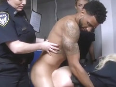 Milf pounded first time Don't be black and suspicious around Black Patrol