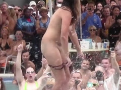 Dante's Hot Swinger Contest from Last Month at Fantasy Fest 2014 PART1 - NebraskaCoeds