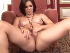 Bobbi Starr masturbating to orgasm